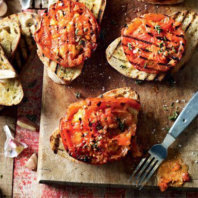 Chilli tomato toasts recipe