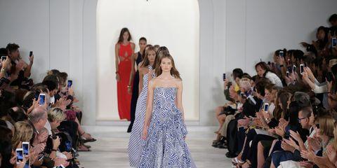 Footwear, Fashion show, Event, Runway, Dress, Style, Formal wear, Fashion model, Fashion, One-piece garment,