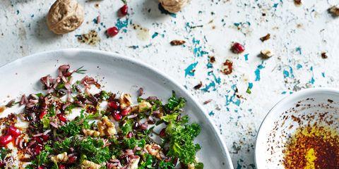 Dishware, Serveware, Food, Salad, Cuisine, Ingredient, Tableware, Drinkware, Leaf vegetable, Gremolata,