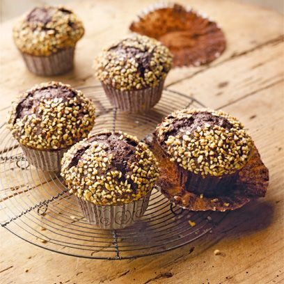 Food, Cuisine, Dish, Dessert, Baked goods, Ingredient, Muffin, Baking, Praline, Rum ball,