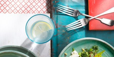 Food, Dishware, Tableware, Salad, Recipe, Ingredient, Kitchen utensil, Serveware, Cuisine, Plate,