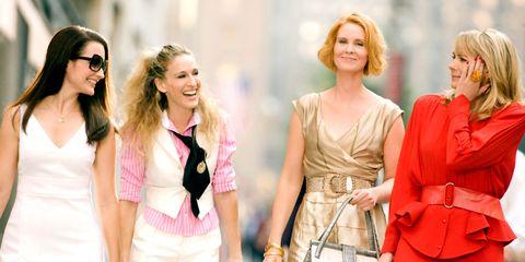Outerwear, Bag, Style, Waist, Sunglasses, Fashion accessory, Street fashion, Fashion, Luggage and bags, Blond,