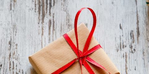 Wood, Red, Ribbon, Carmine, Christmas decoration, Gift wrapping, Present, Hardwood, Magenta, Christmas,