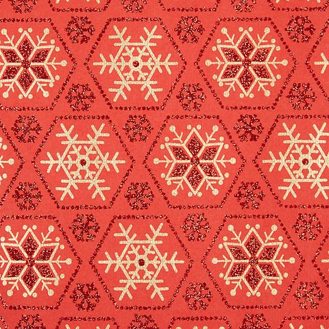 every christmas needs some sparkle give your presents under the tree some with this snowflake pattern