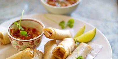 Food, Cuisine, Nem, Dish, Ingredient, Nem rán, Spring roll, Recipe, Dishware, Serveware,