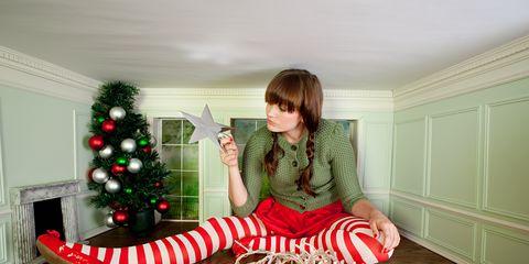 Room, Christmas decoration, Interior design, Flooring, Holiday, Interior design, Home, Wood flooring, Christmas eve, Christmas,