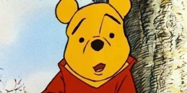 Cartoon, Animated cartoon, Yellow, Teddy bear, Animation, Clip art, Illustration,