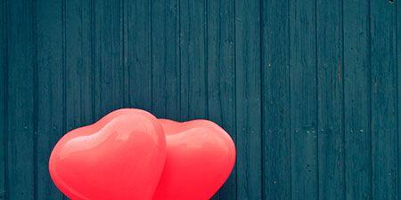 Wood, Red, Heart, Carmine, Love, Balloon, Hardwood, Coquelicot, Peach, Wood stain,