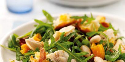 Food, Dishware, Serveware, Cuisine, Ingredient, Tableware, Salad, Plate, Vegetable, Leaf vegetable,