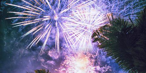 Blue, Event, Purple, Violet, Pink, Fireworks, Magenta, Lavender, Majorelle blue, World,