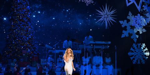 Event, Entertainment, Performing arts, Stage, Performance, Holiday, Music venue, Artist, Public event, Majorelle blue,