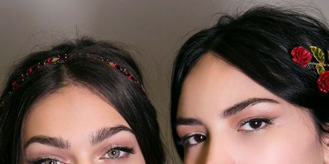 Hair, Lip, Face, Eyebrow, Nose, Skin, Beauty, Black hair, Chin, Cheek,