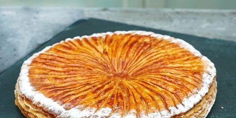 Food, Ingredient, Baked goods, Dessert, Dish, Orange, Plate, Sweetness, Breakfast, Serveware,