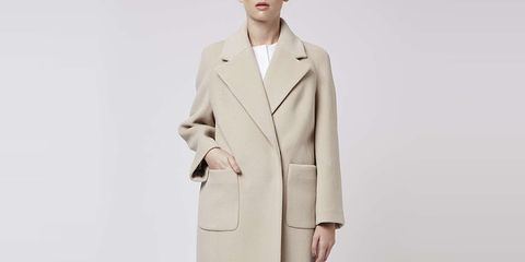 Clothing, Coat, Collar, Sleeve, Textile, Standing, Joint, Outerwear, Dress shirt, Style,