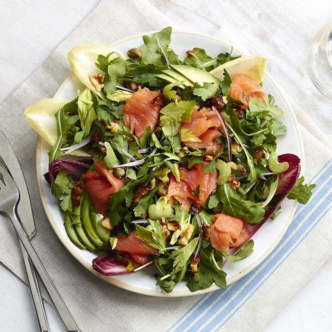 Garden salad, Food, Dish, Salad, Ingredient, Cuisine, Spinach salad, Vegetable, Leaf vegetable, Spring greens,