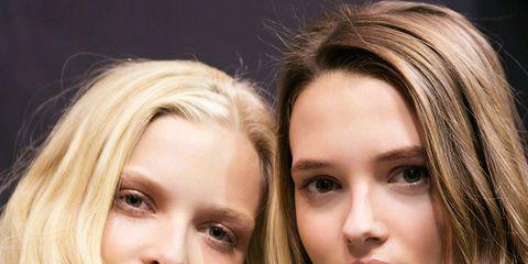 Head, Nose, Lip, Hairstyle, Eye, Chin, Eyebrow, Eyelash, Step cutting, Style,