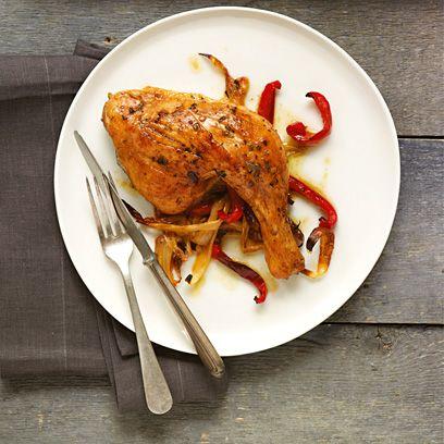 Devil's roast chicken