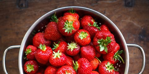 Food, Sweetness, Natural foods, Fruit, Red, Produce, Strawberry, Vegan nutrition, Accessory fruit, Whole food,