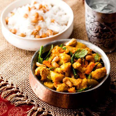 Gujarati vegetable curry