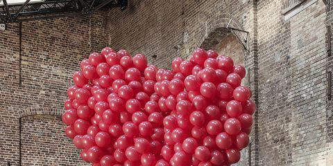 Red, Pattern, Carmine, Heart, Seedless fruit, Love, Berry, Coquelicot, Fruit, Produce,