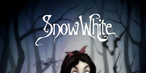 Hairstyle, Dress, Beauty, Art, Animation, Gown, Fictional character, Darkness, hoopskirt, Cg artwork,