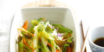 Serveware, Food, Salad, Tableware, Ingredient, Dishware, Bowl, Drink, Produce, Cuisine,