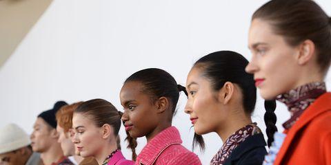Head, Ear, Sleeve, Style, Fashion, Jewellery, Sun hat, Earrings, Street fashion, Lipstick,