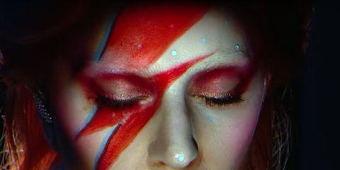 Lip, Cheek, Skin, Eyebrow, Eyelash, Colorfulness, Eye shadow, Eye liner, Flesh, Makeover,