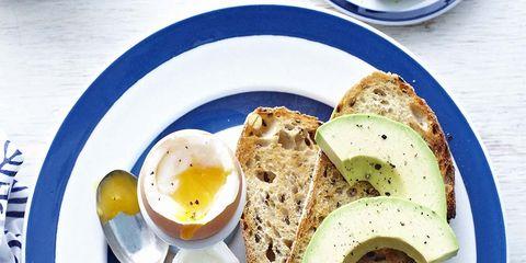 Serveware, Dishware, Food, Ingredient, Plate, Tableware, Meal, Breakfast, Egg yolk, Dish,
