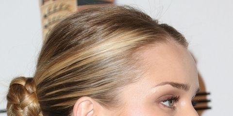 Hair, Ear, Earrings, Lip, Hairstyle, Skin, Chin, Forehead, Eyebrow, Eyelash,