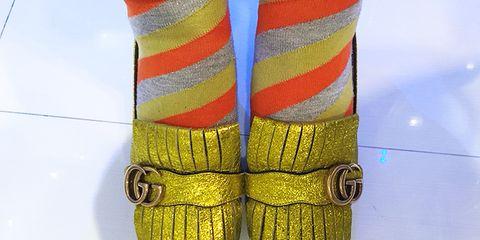 Yellow, Textile, Space, Thread,