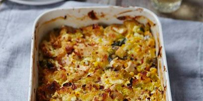 Food, Cuisine, Ingredient, Dish, Casserole, Recipe, Comfort food, Serveware, Gratin, Lasagne,