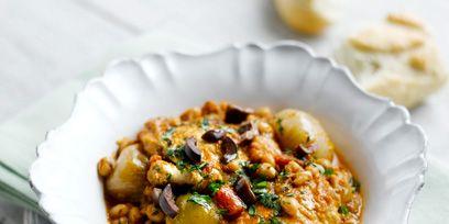 Food, Dish, Cuisine, Recipe, Ingredient, Dishware, Serveware, Stew, Meal, Plate,