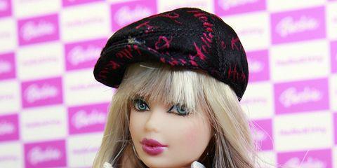 Eyelash, Pink, Style, Magenta, Fashion accessory, Headgear, Costume accessory, Purple, Fashion, Wig,