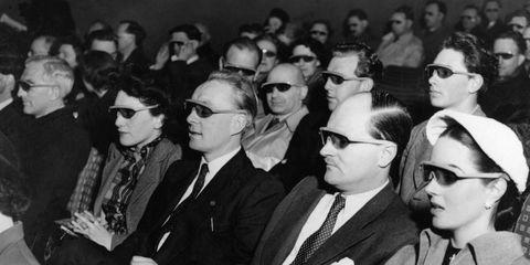 Eyewear, Face, Glasses, Vision care, People, Crowd, Sunglasses, Audience, Street fashion, Blazer,