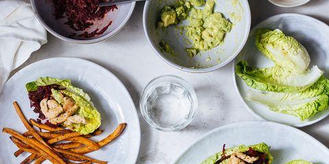 Food, Dishware, Ingredient, Cuisine, Leaf vegetable, Plate, Tableware, Recipe, Dish, Produce,
