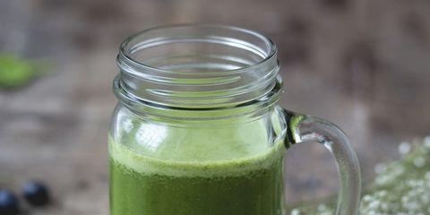 Green, Dishware, Ingredient, Serveware, Food, Tableware, Kitchen utensil, Cutlery, Vegetable juice, Aojiru,