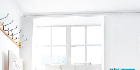 Room, Furniture, Blue, Interior design, Turquoise, Living room, Property, Home, Orange, Building,