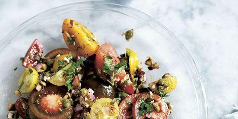 Food, Cuisine, Ingredient, Dishware, Recipe, Dish, Tableware, Salad, Plate, Leaf vegetable,