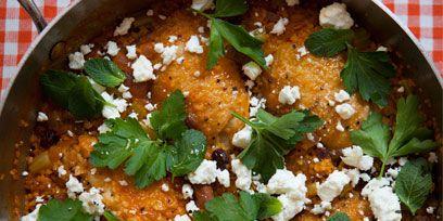 Food, Green, Dish, Recipe, Cuisine, Garnish, Plaid, Comfort food, Serveware, Meal,