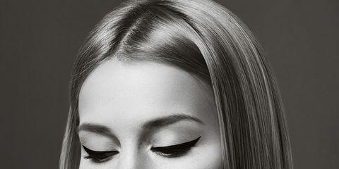 Face, Hair, Eyebrow, Lip, Chin, Hairstyle, Beauty, Skin, Head, Forehead,