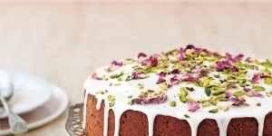 Food, Cuisine, Dish, Cake, Dessert, Baked goods, Ingredient, Torte, Chocolate cake, Icing,