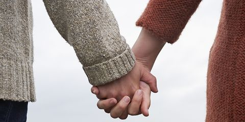 People in nature, Holding hands, Gesture, Interaction, Hand, Love, Friendship, Vacation, Honeymoon, Sky,