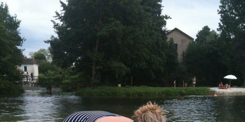 Water, Fun, Summer, Vacation, Bank, Recreation, Leisure, Smile, Bathing, Pond,