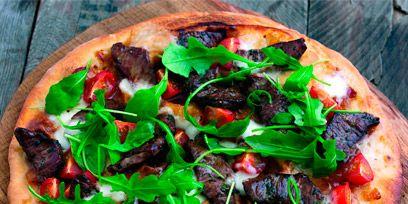 Food, Cuisine, Dish, Baked goods, Recipe, Leaf vegetable, Pizza, Plate, Ingredient, Fast food,