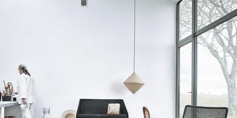 Room, Interior design, Furniture, Floor, Coffee table, Design, Armrest, Outdoor furniture, Transparent material, Daylighting,