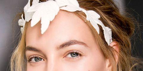 Nose, Mouth, Lip, Eye, Skin, Chin, Forehead, Eyebrow, Eyelash, Hair accessory,