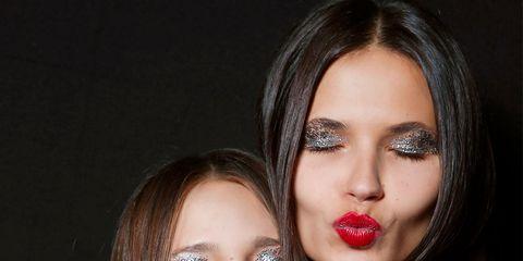 Finger, Mouth, Lip, Hairstyle, Skin, Eyelash, Eyebrow, Eye shadow, Nail, Beauty,