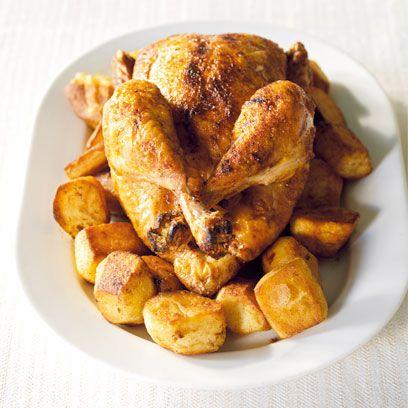 John Torode's roast chicken