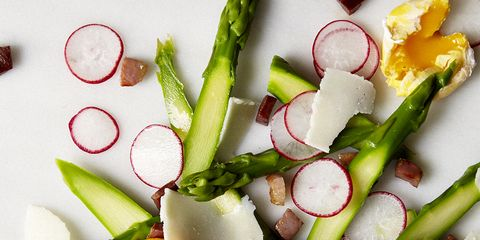 Food, Vegetable, Salad, Dishware, Produce, Finger food, Plate, Garnish, Food group, Vegetarian food,